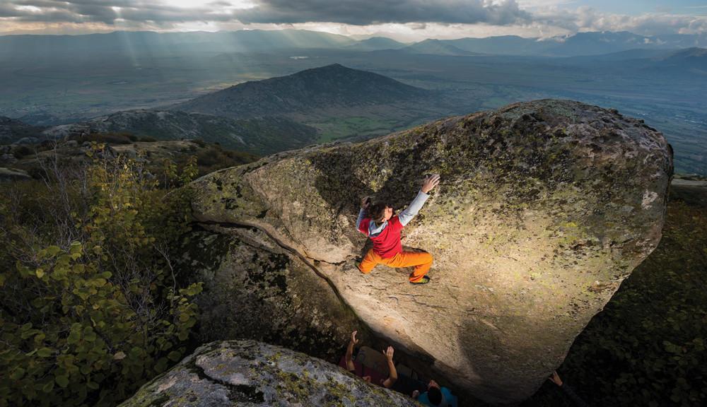 Sam Bie - Prilep bouldering